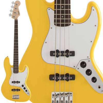 Squier by Fender FSR Affinity SeriesTM Jazz Bass Laurel Fingerboard Graffiti Yellow エレキベース 【スクワイヤー / スクワイア】【数量限定品】