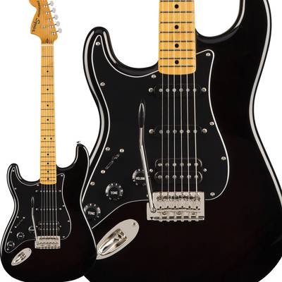 Squier by Fender Classic Vibe '70s Stratocaster HSS Left-Handed Maple Fingerboard Black エレキギター ストラトキャスター レフトハンド 【スクワイヤー / スクワイア】