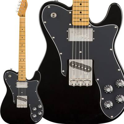 Squier by Fender Classic Vibe '70s Telecaster Custom Maple Fingerboard Black エレキギター テレキャスター 【スクワイヤー / スクワイア】