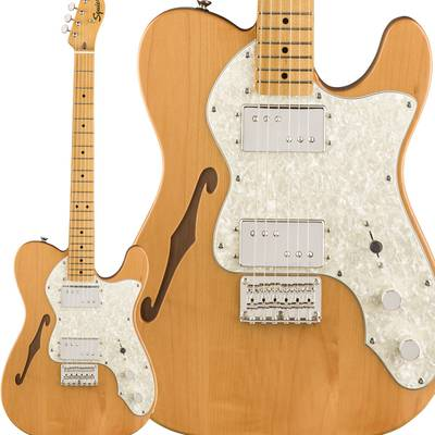 Squier by Fender Classic Vibe '70s Telecaster Thinline Maple Fingerboard Natural エレキギター テレキャスター 【スクワイヤー / スクワイア】