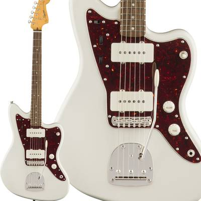 Squier by Fender Classic Vibe '60s Jazzmaster Laurel Fingerboard Olympic White エレキギター ジャズマスター 【スクワイヤー / スクワイア】