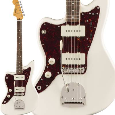 Squier by Fender Classic Vibe '60s Jazzmaster Left-Handed Laurel Fingerboard Olympic White エレキギター ジャズマスター レフトハンド 【スクワイヤー / スクワイア】