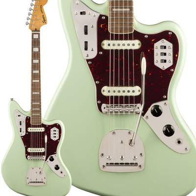 Squier by Fender Classic Vibe '70s Jaguar Laurel Fingerboard Surf Green エレキギター ジャガー 【スクワイヤー / スクワイア】