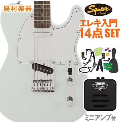 Squier by Fender FSR Affinity SeriesTelecaster Laurel Fingerboard Sonic Blue 初心者14点セット 【ミニアンプ付き】 エレキギター テレキャスター 【スクワイヤー / スクワイア】【オンラインストア限定】
