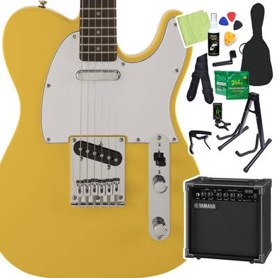 Squier by Fender FSR Affinity SeriesTelecaster Laurel Fingerboard Graffiti Yellow 初心者14点セット 【ヤマハアンプ付き】 エレキギター テレキャスター 【スクワイヤー / スクワイア】【オンラインストア限定】