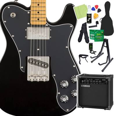 Squier by Fender Classic Vibe '70s Telecaster Custom, Maple Fingerboard, Black 初心者14点セット 【ヤマハアンプ付き】 エレキギター テレキャスター 【スクワイヤー / スクワイア】【オンラインストア限定】