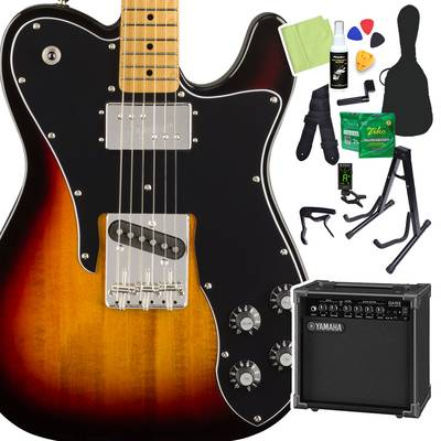 Squier by Fender Classic Vibe '70s Telecaster Custom, Maple Fingerboard, 3-Color Sunburst 初心者14点セット 【ヤマハアンプ付き】 エレキギター テレキャスター 【スクワイヤー / スクワイア】【オンラインストア限定】
