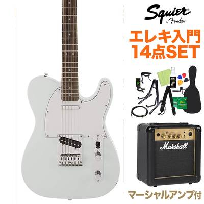 Squier by Fender FSR Affinity SeriesTelecaster Laurel Fingerboard Sonic Blue 初心者14点セット 【マーシャルアンプ付き】 エレキギター テレキャスター 【スクワイヤー / スクワイア】【オンラインストア限定】
