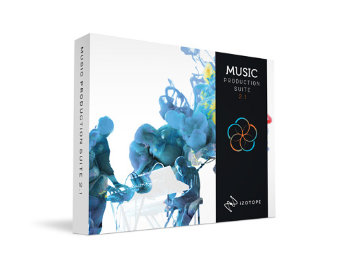 iZotope Music Production Suite 2.1 【ダウンロード版】 【アイゾトープ】