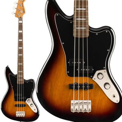 Squier by Fender Classic Vibe Jaguar Bass Laurel Fingerboard 3-Color Sunburst ジャガー ベース 【スクワイヤー / スクワイア】