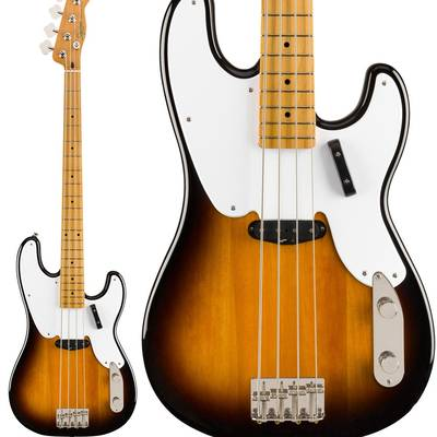 Squier by Fender Classic Vibe '50s Precision Bass Maple Fingerboard 2-Color Sunburst プレシジョンベース 【スクワイヤー / スクワイア】
