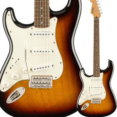 Squier by Fender Classic Vibe '60s Stratocaster Left-Handed Laurel Fingerboard 3-Color Sunburst ストラトキャスター レフトハンド 【スクワイヤー / スクワイア】