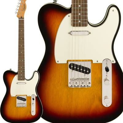 Fender Classic Vibe '60s Custom Telecaster Laurel Fingerboard 3-Color Sunburst テレキャスター 【フェンダー】