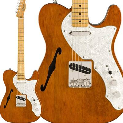 Fender Classic Vibe '60s Telecaster Thinline Maple Fingerboard Natural テレキャスター 【フェンダー】