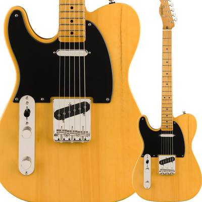 Squier by Fender Classic Vibe '50s Telecaster Left-Handed Maple Fingerboard Butterscotch Blonde テレキャスター レフトハンド 【スクワイヤー / スクワイア】