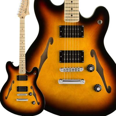 Squier by Fender Affinity Series Starcaster Maple Fingerboard 3-Color Sunburst スターキャスター 【スクワイヤー / スクワイア】