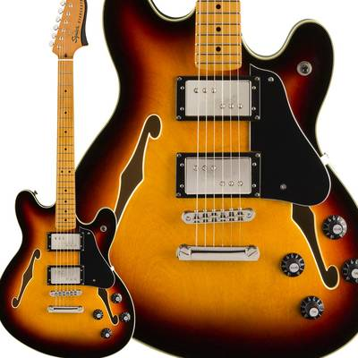Fender Classic Vibe Starcaster Maple Fingerbaord 3-Color Sunburst スターキャスター 【フェンダー】