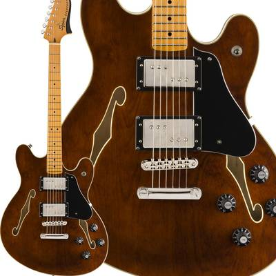 Fender Classic Vibe Starcaster Maple Fingerboard Walnut スターキャスター 【フェンダー】