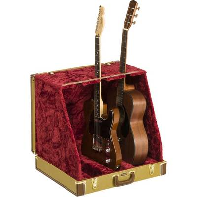 Fender Classic Series Case Stand Tweed 3 Guitar ギタースタンド ディスプレイ 3本用 【フェンダー CLASSIC SERIES CASE STAND−3 GUITAR】