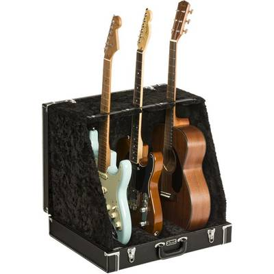 Fender Classic Series Case Stand Black 3 Guitar ギタースタンド ディスプレイ 3本用 【フェンダー CLASSIC SERIES CASE STAND−3 GUITAR】