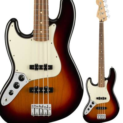 Fender Player Jazz Bass Left-Handed, Pau Ferro Fingerboard, 3-Color Sunburst ジャズベース 左利き用 【フェンダー】