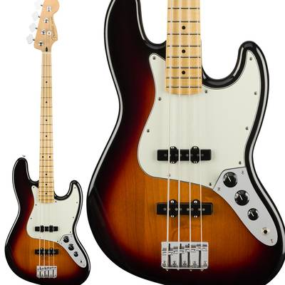 Fender Player Jazz Bass, Maple Fingerboard, 3-Color Sunburst ジャズベース 【フェンダー】