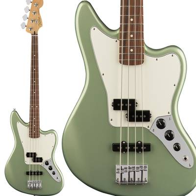 Fender Player Jaguar Bass, Pau Ferro Fingerboard, Sage Green Metallic エレキベース 【フェンダー】