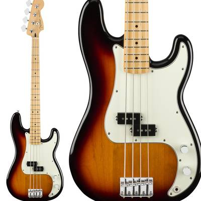 Fender Player Precision Bass, Maple Fingerboard, 3-Color Sunburst プレシジョンベース 【フェンダー】