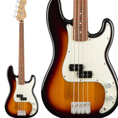 Fender Player Precision Bass, Pau Ferro Fingerboard, 3-Color Sunburst プレシジョンベース 【フェンダー】