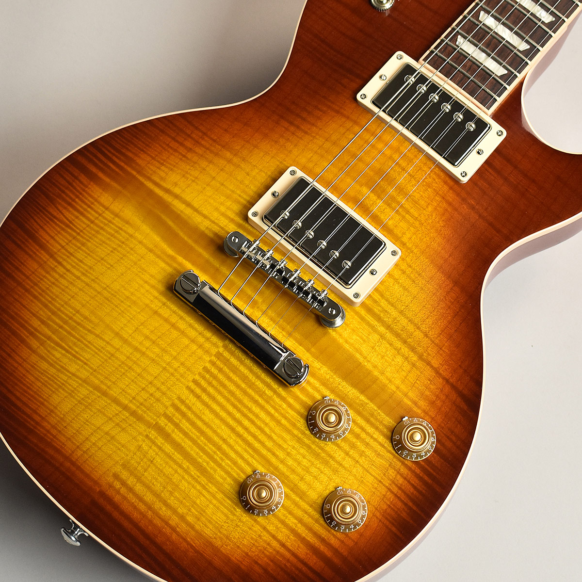 Gibson Les Paul Traditional Premium Plus Tea Burst S/N:190030415 【ギブソン】【限定モデル】【未展示品】