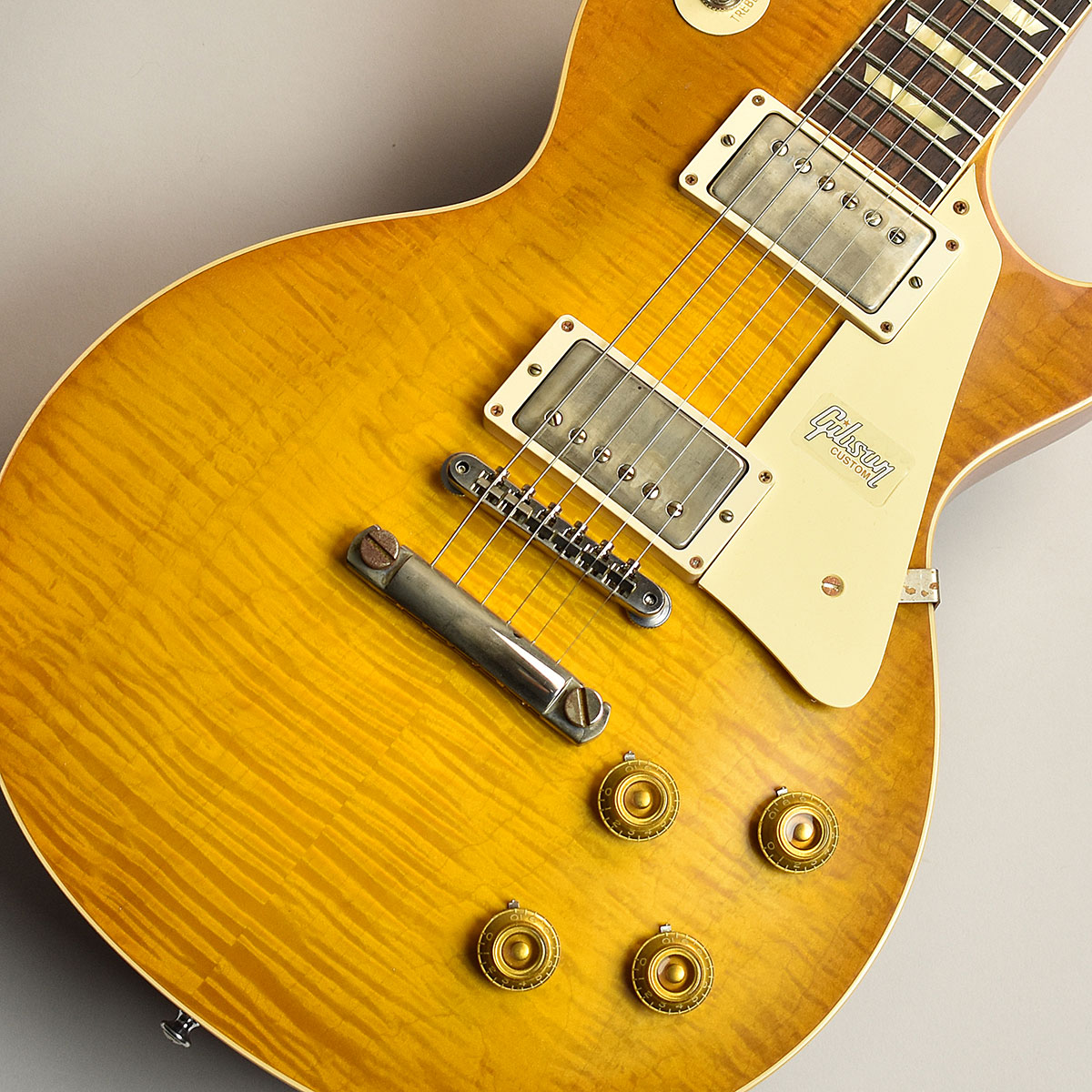 Gibson Custom Shop 60th 1959 Les Paul Standard Dirty Lemon Fade VOS S/N:991109 【ギブソン カスタムショップ】【60th Anniversary】【現地選定品】【未展示品】