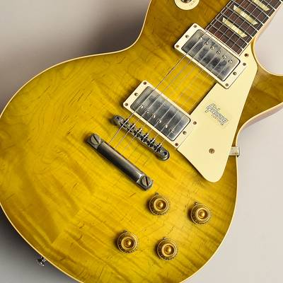 Gibson Custom Shop 60th 1959 Les Paul Standard Green Lemon Light Aged S/N:991110 【ギブソン カスタムショップ】【現地選定品】【未展示品】