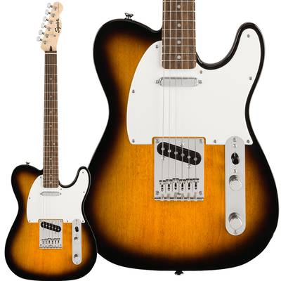 Squier by Fender Bullet Telecaster Laurel Fingerboard Brown Sunburst テレキャスター 【スクワイヤー / スクワイア】エレキギター