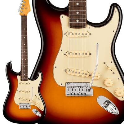 Fender American Ultra Stratocaster Rosewood Fingerboard Ultraburst ストラトキャスター 【フェンダー】エレキギター