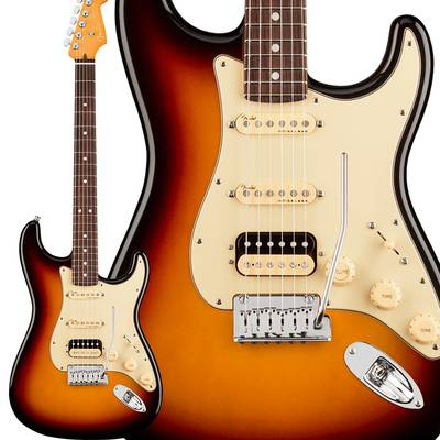 Fender American Ultra Stratocaster HSS Rosewood Fingerboard Ultraburst ストラトキャスター 【フェンダー】エレキギター
