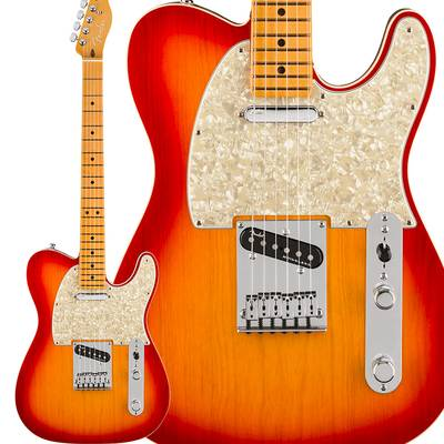 Fender American Ultra Telecaster Maple Fingerboard Plasma Red Burst テレキャスター 【フェンダー】