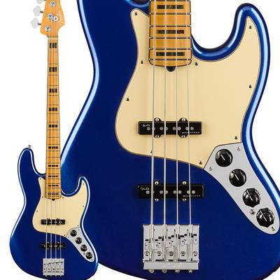 Fender American Ultra Jazz Bass Maple Fingerboard Cobra Blue ジャズベース 【フェンダー】