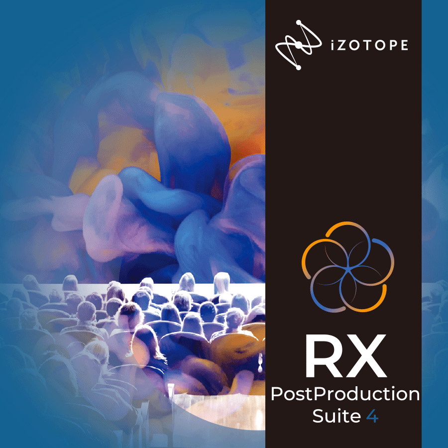 iZotope RX Post Production Suite4 (RX7 Ad/ Dialogue Match/ Neutron3 Ad..etc) 【アイゾトープ】[メール納品 代引き不可]