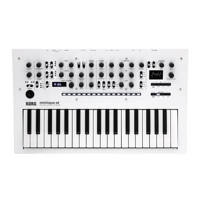 KORG minilogue xd PW パールホワイト アナログシンセサイザー 【コルグ】