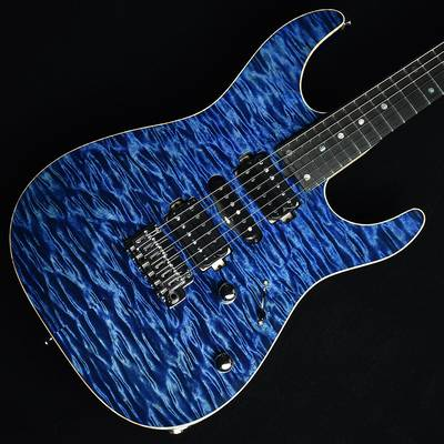 T's Guitars DST-Pro24 5A Quilt Top Arctic Blue S/N:031876 【ティーズギター】【杢目選定品】【未展示品】