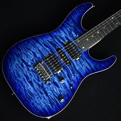 T's Guitars DST-Pro24 5A Quilt Top Trans Blue Burst S/N:031878 【ティーズギター】【杢目選定品】【未展示品】