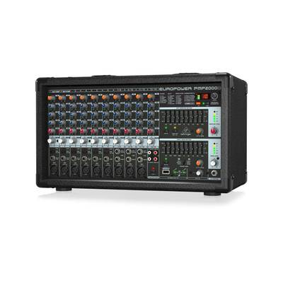 BEHRINGER PMP2000D EUROPOWER 14CH パワードミキサー 【ベリンガー】【正規輸入品】