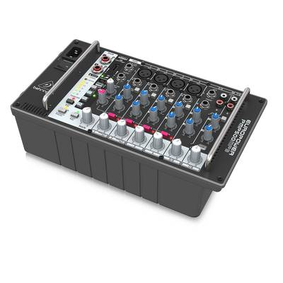 BEHRINGER PMP500MP3 EUROPOWER 8CH パワードミキサー 【ベリンガー】【正規輸入品】