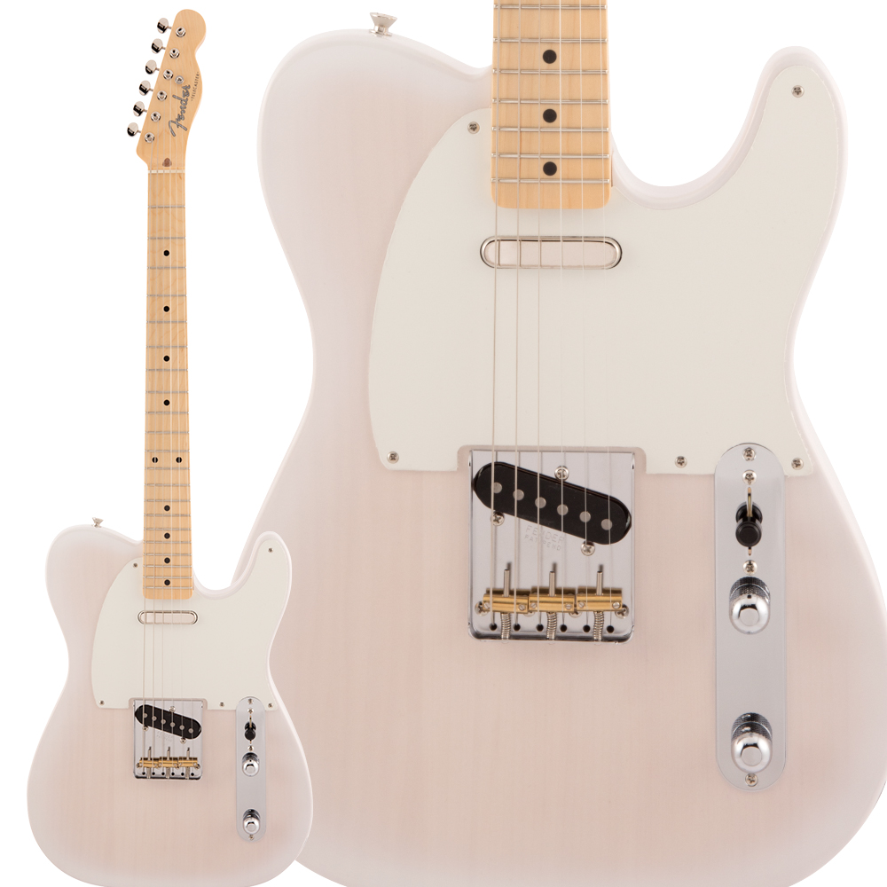 Fender Made in Japan Traditional 50s Telecaster Maple Fingerboard White Blonde エレキギター テレキャスター 【フェンダー】
