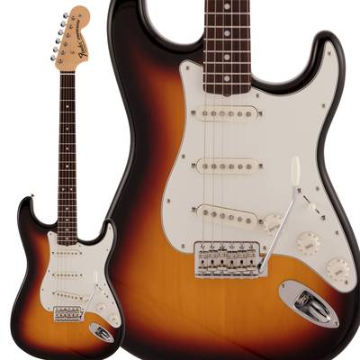 Fender Made in Japan Traditional Late 60s Stratocaster Rosewood Fingerboard 3-Color Sunburst エレキギター ストラトキャスター 【フェンダー】