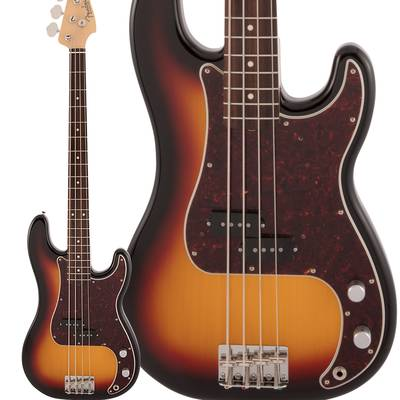 Fender Made in Japan Traditional 60s Precision Bass Rosewood Fingerboard 3-Color Sunburst エレキベース プレシジョンベース 【フェンダー】