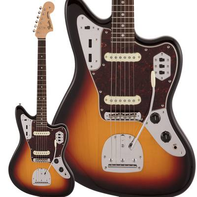 Fender Made in Japan Traditional 60s Jaguar Rosewood Fingerboard 3-Color Sunburst エレキギター ジャガー 【フェンダー】