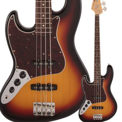 Fender Made in Japan Traditional 60s Jazz Bass Left-Handed Rosewood Fingerboard 3-Color Sunburst エレキベース ジャズベース 【フェンダー】