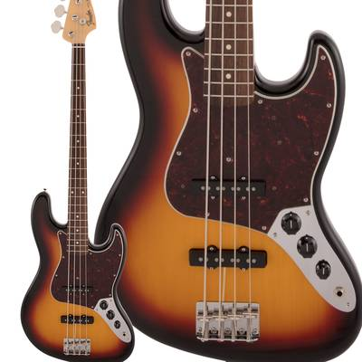 Fender Made in Japan Traditional 60s Jazz Bass Rosewood Fingerboard 3-Color Sunburst エレキベース ジャズベース 【フェンダー】
