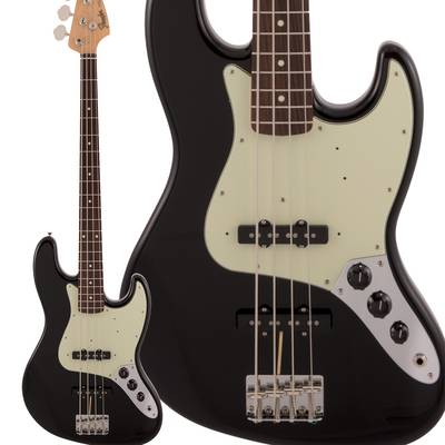 Fender Made in Japan Traditional 60s Jazz Bass Rosewood Fingerboard Black エレキベース ジャズベース 【フェンダー】
